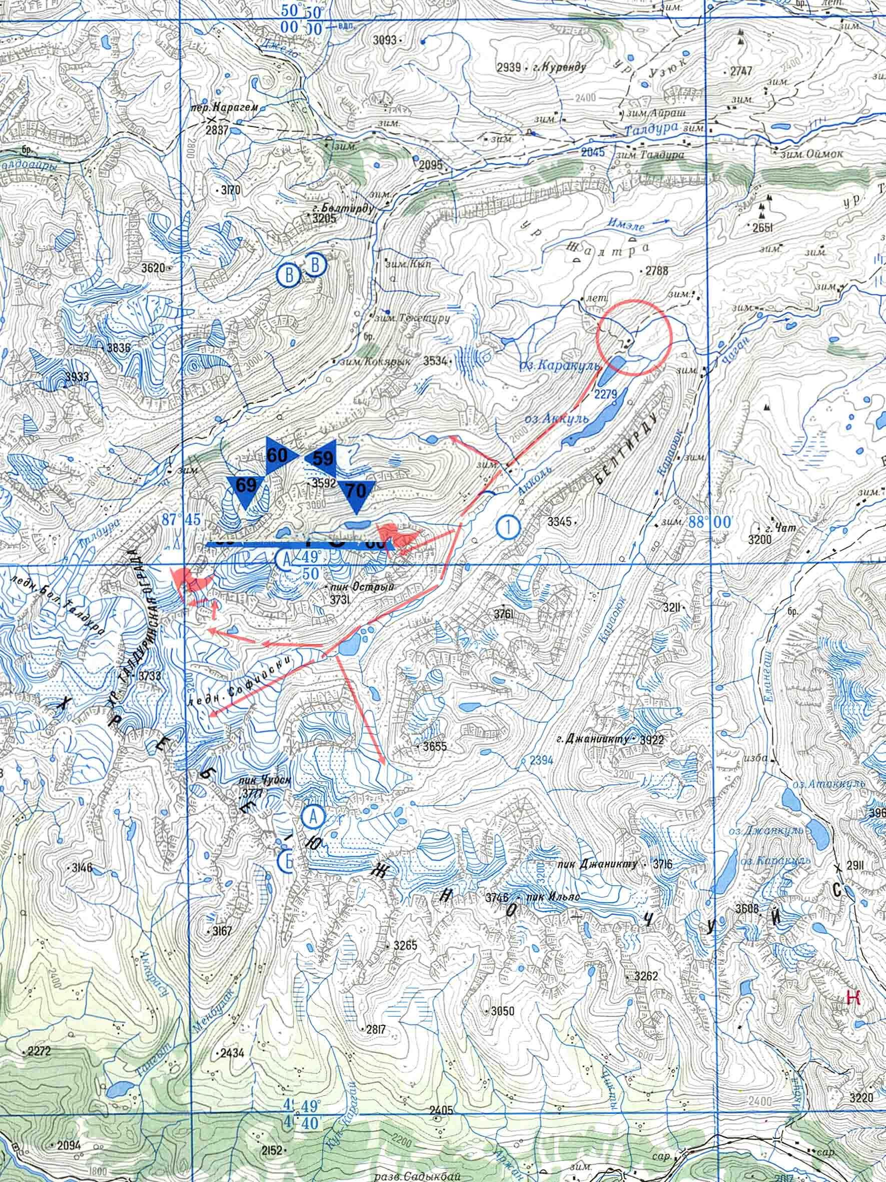 "Турклуб ""Походник"" ::: В поход на Алтай, Байкал, Урал ...: http://pohodnik.info/maps.php?archive"